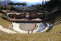 Skip the Line Private Tour of Ancient Pompeii with Lunch&Wine Tasting f