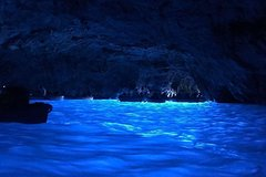Semi-private boat tour of the Blue Grotto of Capri (7/8 hours) from Sorrent