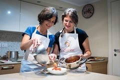 Private cooking class at a locals home with lunch or dinner in Rapallo
