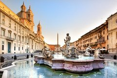 Four Fountains Tour: the Barberini, the Pantheon, Trevi Fountain and the Na
