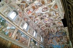 Vatican Museums, St. Peters Basilica, private extended tour, privileged acc