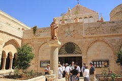 Jerusalem, Bethlehem and Dead Sea Day tour from Tel Aviv