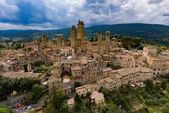 Private car trip to Siena and San Gimignano from Florence (8 h)