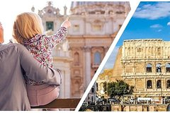 Combo 1 Day: Colosseum And Vatican Museum Guided Tours