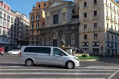 Amalfi Coast to Naples Private Transfer by Luxury Van & English Speakin