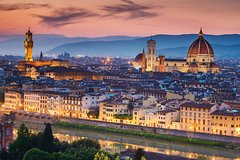 Private car trip to Florence and Pisa from the Port of Livorno (10 h)