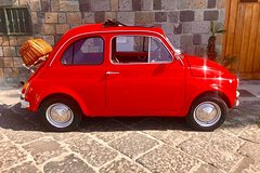 Sorrento: Photo Tour with vintage Fiat 500 + Craft Beer Tasting