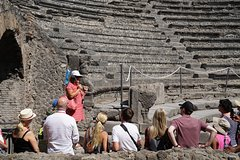 From Positano: Skip-the-line Pompeii and Mount Vesuvius Guided Tour