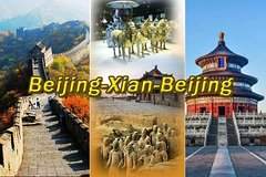 [4days 3nights] Beijing+Xian Tour from/back to Beijing by air