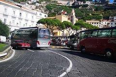 Transfer Naples Amalfi or Amalfi Naples