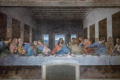 Milan: Last Supper by Leonardo Da Vinci