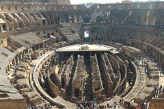 private tour of the Colosseum arena access, Roman Forum Palatine special si