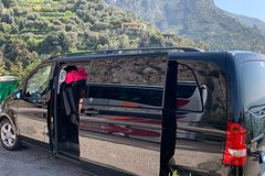 Private transfer from Positano to Naples by the scenic coast