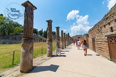 Pompeii and Vesuvius day trip by boat from Sorrento with lunch in a vineyar