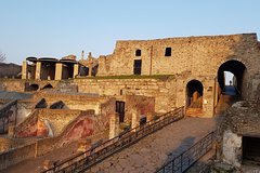 Pompeii and Herculaneum guided tour with an English-speaking archaeologist