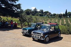 Winery&Ancient Highlights Tour in Mini Cabriolet in Roman Castle with w