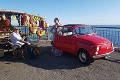 Amalfi Coast Photo Tour by Vintage Fiat 500