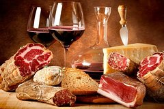 Gourmet tour: Amarone, cheese and salami