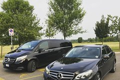 Private transfer Service from Amalfi to Rome.