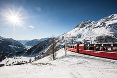 Bernina Express with Guaranteed Panoramic Carriage: Round Trip by Bus from