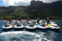 Jet-ski excursion 3 hrs Jet ski excursion to Moorea (single or two-seater)