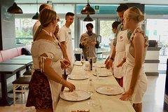 Fresh pasta and Tiramisu cooking class just like a Roman chef