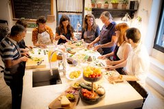 3-course cooking class & lunch on a Roman terrace