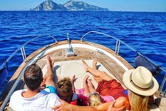 Capri and Positano private boat tour