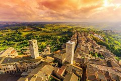 All in One; San Gimignano, Pisa and Siena from Florence