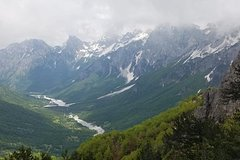 Hiking tour of Koman Lake  Valbona Valley and Theth in six days