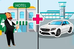 Private Departure Car Transfer: Venice Hotel to Treviso Airport (TSF)