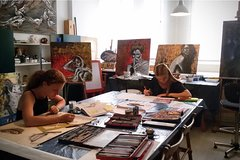 Art Class: Oil painting, Water color, Acrylic painting on Canvas or cotton