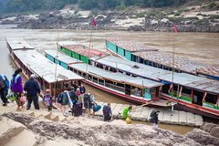 Mekong Cruise down Adventure 2 days, 1 night by Public boat