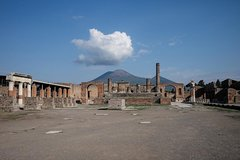 The Archaeological Sites - Herculaneum, Mt. Vesuvius & Pompeii.