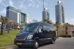 From Tel Aviv Morning Shuttle Vehicle transfer to Eilat