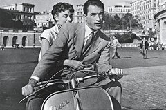 A Vespa tour of Rome, living in movies