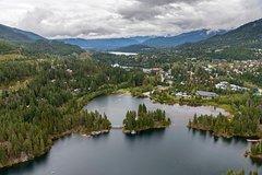 Whistler Lost Lake Snowshoeing and Village Tour