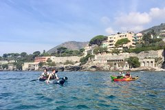 Paddling Genoa secret coast