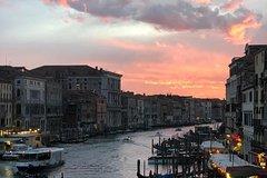 Friendinvenice Venice at sunset