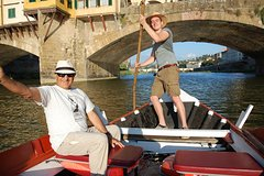 Under the bridges: a floating tour of Florence
