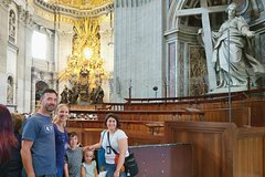 Kid-Friendly Small Group Vatican Museums, Sistine Chapel & St Peters To