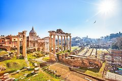 Imperial Forum Private Walking Tour incl. Trajans Market with Francesca