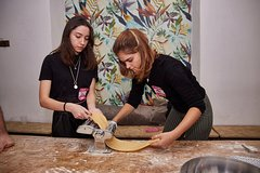 Italian Cooking Class in a Loft near Navigli or Milanese Historical Palace