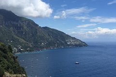 Amalfi Coast tour from Naples Hotels or port with English speaking driver
