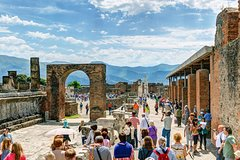 Private Hop-on hop-off - TOUR ALL INCLUSIVE - Pompeii Park and Vesuvio