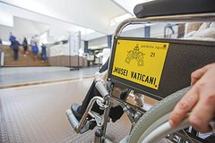 Wheel Chair Accessible Vatican Tour: the Museums, the Sistine Chapel, St.Pe