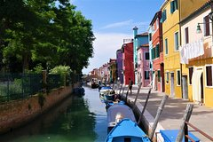 6 hours lagoon tour: Murano, Burano and Torcello