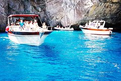 Capri fun,swim & Blue Grotto - half day tour