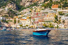 Amalfi Coast Small group Tour by Boat from Sorrento