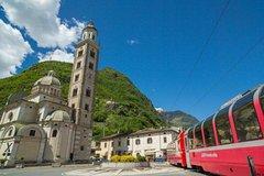 Bernina Train and St. Moritz Full–Day Tour